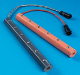 Silicone Rubber Insulated Gas Line Heaters
