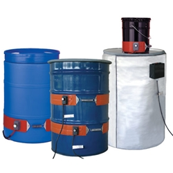 Silcone Rubber Drum & Pail Heaters