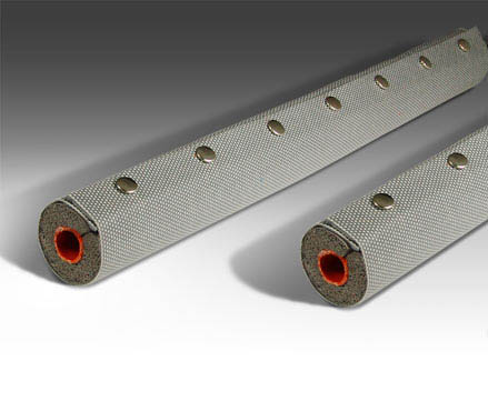 Silicone Instrumentation Heaters with Insulation